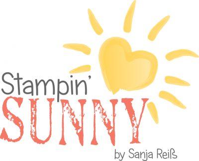 Das Logo von Stampin' Sunny by Sanja Reiß stammt von der talentierten Nicole Elflein von Elfenkunst.