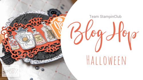 Beitragsbild zum Blog Hop Halloween 2019 vom Team Stampinclub.